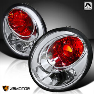 For 1998 2005 Volkswagen Beetle Clear Tail Lights Brake Lamps Left Right Pair
