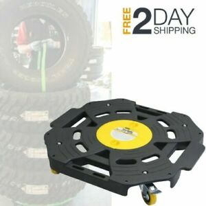Rolling Tire Dolly Wheel Mover Dollies Moving Storage Truck Car Wheels Garage Hd