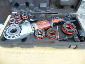 Ridgid 690i Power Drive Pipe Threading Machine Threader 6 Dies 1 2 2 Usa