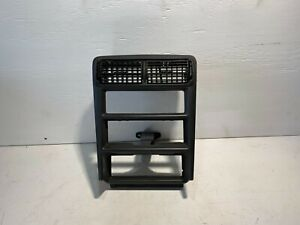 1999 2004 Ford Mustang Dash Climate Control Bezel Trim Radio Charcoal Oem