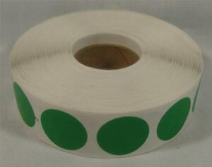 1000 Green Self adhesive Price Labels 3 4 Stickers Tags Retail Store Supplies
