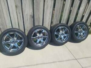 17in 785c Chrome Pacer Wheels 235 45zr17 Continental Extreme Contact Dws06 Tires