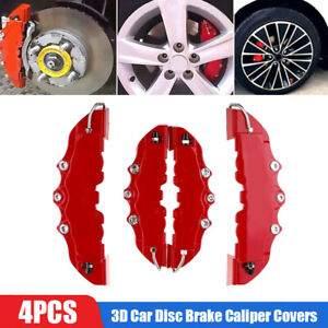 3d Car Disc Brake Caliper Covers Parts Front Rear For 18 3 23 6 Inch Wheels