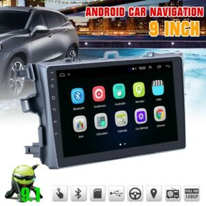 Android 9 1 Car Stereo Radio Gps Navigation Wifi Bt Fit Toyota Corolla 2006 2012