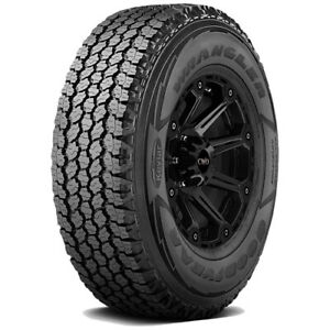 2 245 70r17 Goodyear Wrangler At Adventure Kevlar 110t Sl 4 Ply Bsw Tires