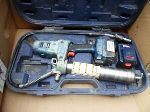 Lincoln 1800 Industrial Power Luber Grease Gun Kit 18 Volt Cordless Series A Usa
