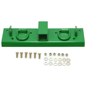 Bolt On Grab Hooks D Rings 2 Receiver For John Deere Compact Tractor