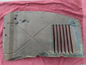1941 1942 1946 Chevy Pickup Truck Passenger Inner Fender Louver Splash Panel Rh