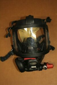 Interspiro Firefighter Fire Face Mask With Cbrn Breathing Valve