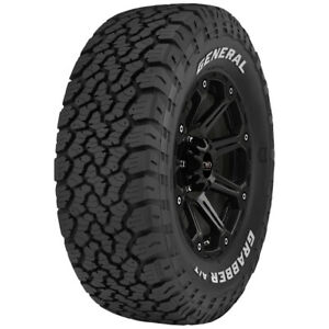4 265 70r15 General Grabber A tx 112t Sl 4 Ply Rwl Tires