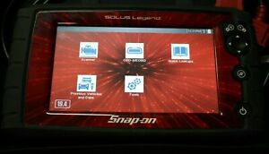 Snap On Solus Legend model Eesc336 Diagnostic Touch Screen Scan Tool Tested