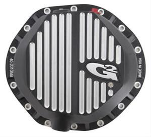 G2 Axle Gear Differential Cover 14 bolt Aluminum Black Gm 9 5 In Each