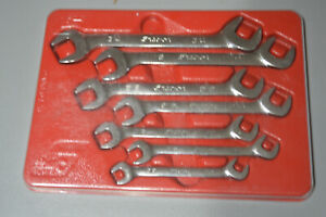 Snap On 7pc 4 way Angle Head Open End Wrench Set 3 8 To 3 4 Vs807b