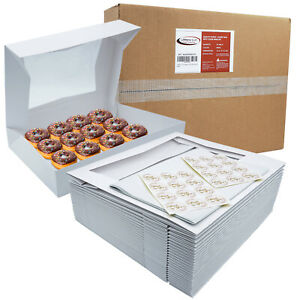 Bakery Boxes With Window 24 pack 16x12x2 25