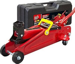 Big Red T820014s Torin Hydraulic Trolley Service Floor Jack With Blow Mold