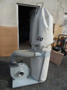 King Of Ufo Ufo 101 Dust Collector System 2 Hp 110 220 Volt 1 Ph Garage Shop