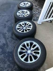 2021 Dodge Ram 1500 Oem Factory 20 Wheels Rims With Tires 275 55 r20 500miles