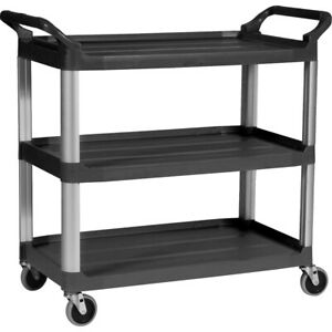 Rubbermaid Commercial Utility Cart 409100bk 409100bk 1 Each