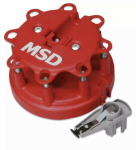 Msd 8482 Replacement Distributor Cap And Rotor Kit For 85 95 Ford 302 5 0 5 8l