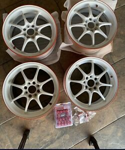 Rays Volk Racing Forged Ce28n Time Attack 15 6 5jj 4x100 Et39 Monoblock