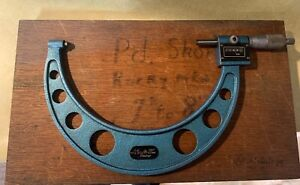 Mitutoyo Outside Combmike Micrometer Mechanical 7 8 Metric Mechanical 7 8