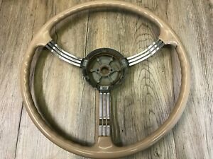1939 39 Packard Twelve Super Eight Oem Used Rare Factory Banjo Steering Wheel