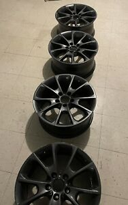 Used 18 Wheels For Bmw 328xi 325xi 330xi 335xi 18 Inch Black Rims Set 4