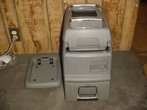 08 09 10 Town Country Grand Caravan Center Floor Console Medium Slate Grey 1