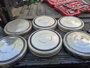 6 ford Motor Company Dog Dish Hub Cap Wheel Cover Vintage