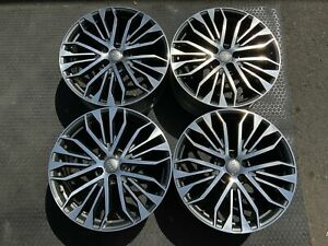 20 Audi A6 2016 2018 Factory Oem Wheels 58974 4g0601025be B