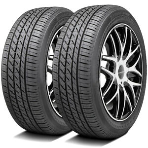2 New Bridgestone Driveguard 255 40r17 94w A s High Performance Tires