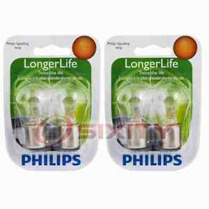 2 Pc Philips Front Turn Signal Light Bulbs For Audi 100 100 Quattro 4000 Ce