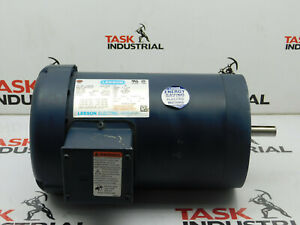Leeson 113890 00 1740rpm 3 Phase Electric Motor