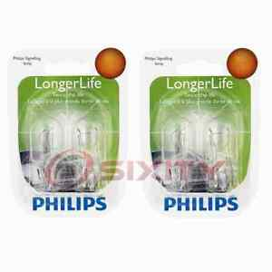 2 Pc Philips Outer Tail Light Bulbs For Mazda Cx 5 Cx 9 Protege 1999 2016 Kd