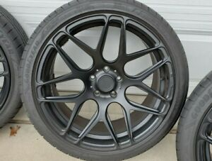 Chevy Camaro 20 Matte Black Mrr Fs01 Forged Aluminum Wheels With Tires