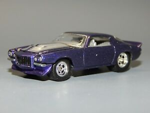 Hot Wheels 100 Adult Collectible 1970 Chevrolet Camaro Z28 Purple Silver Stripe