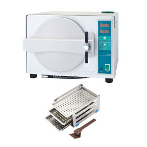 Ups 18l Dental Lab Medical Autoclave Steam Sterilizer With Drying Function