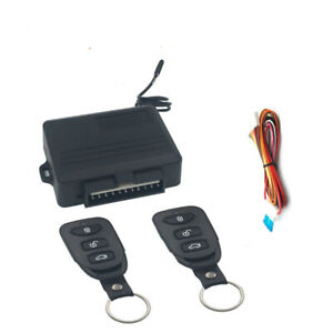 Universal Keyless Entry System Car Alarm Systems Device Auto Remote Control Kit
