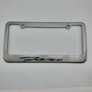 Ford Metal License Plate Frame Silver F 150 Mustang Gt Focus