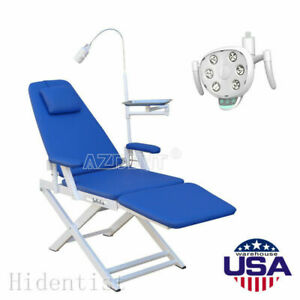 Portable Dental Simple Type folding Chair Led Oral Lamp Operating Light