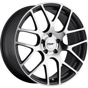 4 19x10 5 Machined Gunmetal Wheel Tsw Nurburgring 5x120 27
