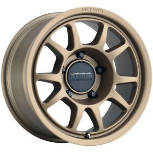 4 Method Mr702 17x8 5 5x150 0mm Bronze Wheels Rims 17 Inch