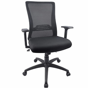Big And Tall Ergonomic Office Chair Mesh Computer Desk Chair With Wide Seat And