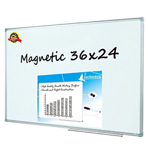 Magnetic Dry Erase Board Magnetic Whiteboard White Board 36 X 24 Inch