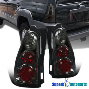 For 2003 2005 Toyota 4runner Replacement Tail Lights Rear Brake Lamps Smoke
