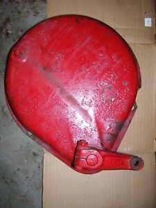 Vintage Mccormick Farmall H Tractor Brake Cover Band Assy lh 1951