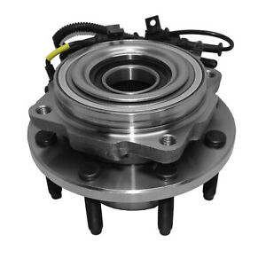 Front Wheel Bearings Hub For 2005 2010 Ford F 250 F 350 Super Duty 4x4