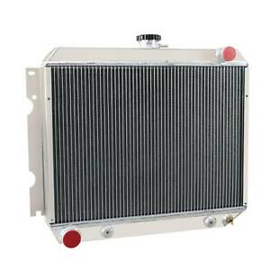 4 Row Aluminum Radiator For 1970 1972 Dodge Charger Challenger Coronet 22 Core