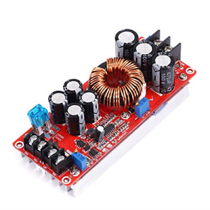 1pcs 1200w 20a Dc Car Step up Power Supply Module Boost Converter Adjustable To