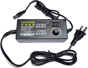 Adjustable Ac dc Switching Power Adapter Variable Voltage Dc5525 Power Supply 4v